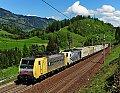 am Foto: RTC 189.902 + Lokomotion 186.442 Loifarn (Tauernbahn)