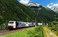 Foto zeigt: Lokomotion 189.917 + Lokomotion 189.914, TEC 41851, Mallnitz-Nord (Tauernbahn), 25.06.2015