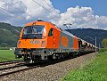 Foto zeigt: RTS 1216.901, Schotterzug, Preg (Kronprinz Rudolfbahn)