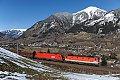 Foto zeigt: 1144.100 + 1016.035 Angertal (Tauernbahn)