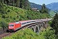 Foto zeigt: Fernverkehrszüge auf der Tauernbahn