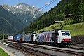 Foto zeigt: Lokomotion 186.444 + 189.914, TEC 41855, Mallnitz-Obervellach (Tauernbahn)