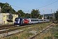 Foto zeigt: CD 380.011, EC 104, Maxing (Verbindungsbahn), 19.07.2015