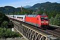 am Foto: DB 101.084 mit EuroCity 115 (Golling-Abtenau)