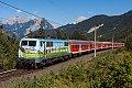 Foto zeigt: DB 111.039 Seefeld Playcastle (Mittenwaldbahn)