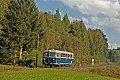Foto zeigt: Mit dem Schienenbus über den Obdacher Sattel