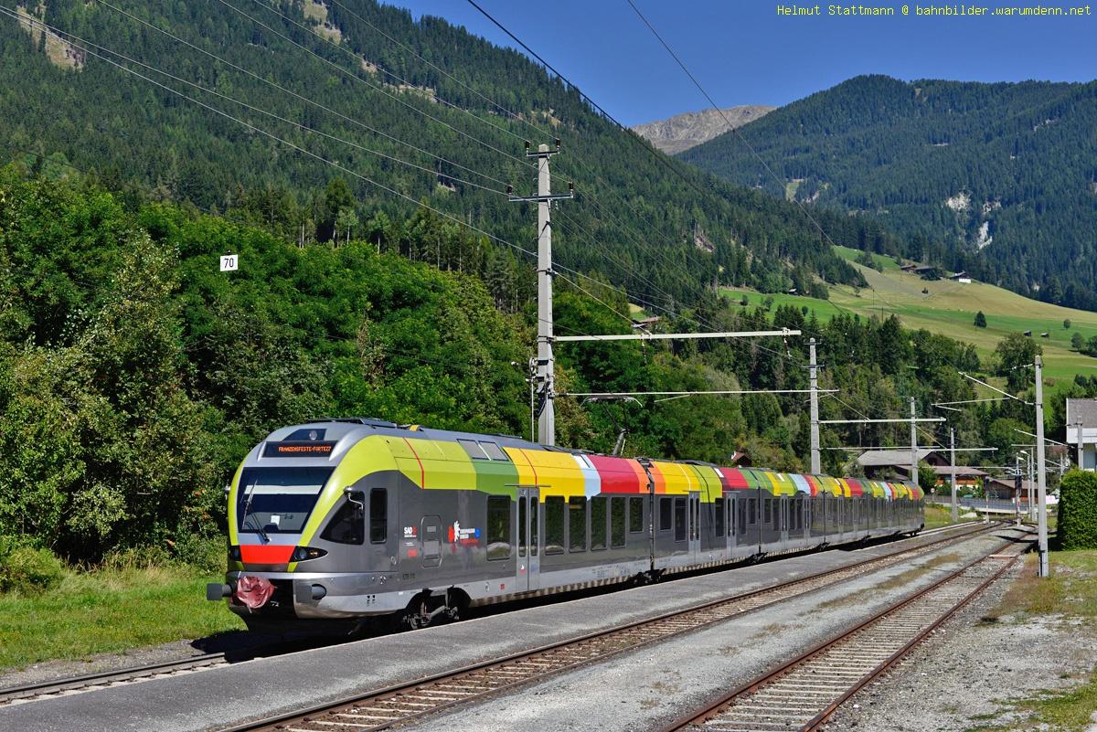 Zug Lienz-Franzensfeste fhrt wieder durchgehend - Osttirol