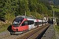 Foto zeigt: 4024.122, R 4937, Hst. Oberfalkenstein (Tauernbahn)
