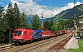 am Foto: VEGA Trans mit Güterzug in Penk (Tauernbahn)