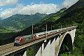 Foto zeigt: DB 101.110 Penk - Pfaffenberg-Zwenberg-Brücke (Tauernbahn)