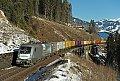 am Foto: Siemens 1116.141 am Steinbach-Viadukt (Tauernbahn)