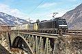 Foto zeigt: Angerschluchtbrücke - Das Ende naht...