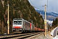 Foto zeigt: Railpool / RTC 186.281 + 185.664, G 44121, Brennersee (Brennerbahn), 26.02.2016