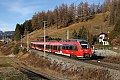 Foto zeigt:TALENT 2 - DB 2442.212 als RegionalExpress bei Reith (Mittenwaldbahn)