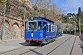Foto zeigt: Straßenbahn Barcelona