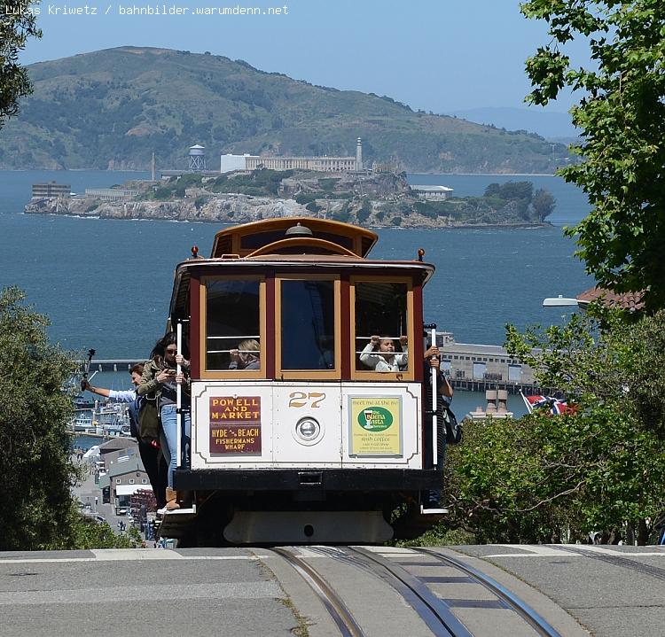 Cable Car Nr 27, Powell / Mason Line, San Francisco