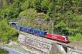 Foto zeigt: SLB 1216.940 bei Pöham - Alpfahrt-Tunnel (Ennstalbahn)
