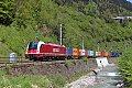 Foto zeigt: SLB 1216 im engen Fritzbachtal