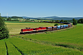 am Foto: 204.425 + 204.271, Schotterzug, Marktschorgast (Bahnstrecke Bamberg-Hof), 23.6.2016