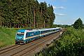 Foto zeigt:ALEX 223.064 bei Marktleuthen (Bahnstrecke Regensburg–Oberkotzau)