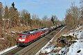 """Foto zeigt: Schöne, alte """"Russinnen"""": LEG 232.673 und 132.109 bei Marktredwitz"""