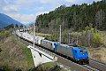 Foto zeigt: ATLU 185.529 + TXL 185.537, mit TX EKOL, Pusarnitz Nord (Tauernbahn)