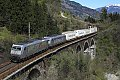 Foto zeigt:TX EKOL am Hundsdorfer-Viadukt mit 185 Tandem