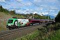 """am Foto: """"Brenner-Lok"""" 1116.159 mit Railjet 110 bei Mühldorf-Möllbrücke (Tauernbahn)"""
