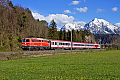 am Foto: 1142.682 mit InterCity bei Roßleithen (Pyhrnbahn), 02.05.2017