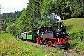 Foto zeigt: Seltene Dampflokkonstruktion in Österreich zu Gast und in Betrieb