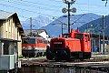 am Foto: x260.100 (Ex 2060.100) neben 1142.669 bei der Drehscheibe Selzthal (Ennstalstrecke)
