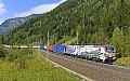 "Foto zeigt:Lokomotion 193.773 ""150 Jahre Brennerbahn"" + Lokomotion 185.661 ""Paul"", TEC 41857, Sbl. Kolbnitz 1 (Tauernbahn), 23.09.2017"