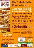 Foto zeigt: 110 Jahre Sulmtalbahn! Modellbahnausstellung und Sonderfahrten