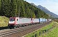 Foto zeigt: BRLL 185.591 + 185.592, TEC 41892, Sbl. Penk 1 (Tauernbahn)
