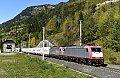Foto zeigt: Viermal KLV - vier EVU auf der Tauernbahn