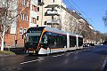 Foto zeigt: Neuer XXL O-Bus in Linz im Einsatz