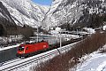 Foto zeigt: 1116.189, DG 54490, Üst. Golling 2 / Stegenwald (Giselabahn), 22.01.2015