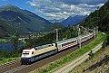 """Foto zeigt: DB 101.112 """"Rheingold"""" mit EuroCity beim Sbl. Kolbnitz 1 (Tauernbahn)"""