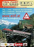 Foto zeigt: TIROL-Fahrt - Lienz - Innsbruck, Sternfahrt auf die Gebirgsbahnen