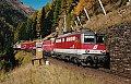 Foto zeigt: Letztes RoLa-Zugpaar via Tauernbahn eingestellt