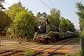 Foto zeigt: Dampflok 18.201 mit Sonderzug bei St. Veit an der Wien (Verbindungsbahn)