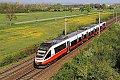 Foto zeigt: ÖBB 4124.012 im CJ-Design als S 60 bei Himberg (Ostbahn), 20.04.2018