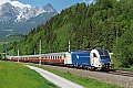 am Foto: WLC 1216.951 mit Rheingold bei Pfarrwerfen (Giselabahn)