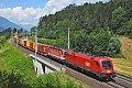 am Foto: 1016.013 vor 1144.054 bei Pusarnitz Nord (Tauernbahn)