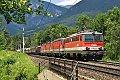 am Foto: 1142.638 vor drei 1144 bei Payerbach-Reichenau (Semmeringbahn)