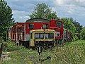 Foto zeigt: X626.151 + 2066.001 + 2067.009, Diesel-Parade, Eisenbahnmuseum Strasshof
