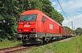 Foto zeigt: Arbeitszug auf der Radkersburgerbahn