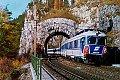 Foto zeigt: 4010.09 als Ex 154 Robert Stolz, Kleiner Krauseltunnel (Semmeringbahn 1982)