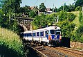 """Foto zeigt: 4010.008 als Ex 158 """"Peter Rosegger"""" beim Portal des Eichberg-Tunnel (Semmeringbahn 1988)"""