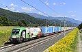 Foto zeigt: Brennerbahn Werbeloks im Blockabstand